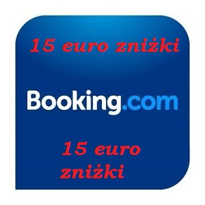 Zniżka 15 euro na noclegi
