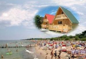 Domki letniskowe nad morzem